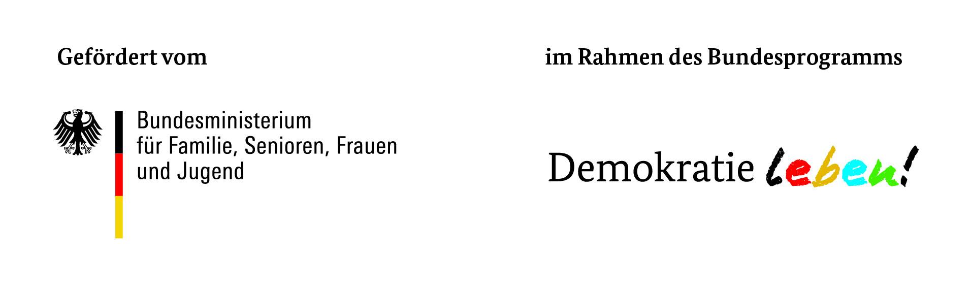 Logo Demokratie Leben Bund