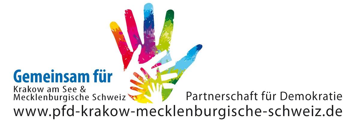 Logo Partnerschaft für Demokratie Amt Krakow