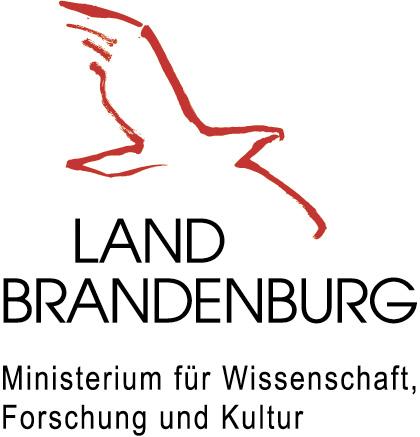 Logo Ministerium für Wissenschaft, Forschung und Kultur des Landes Brandenburg